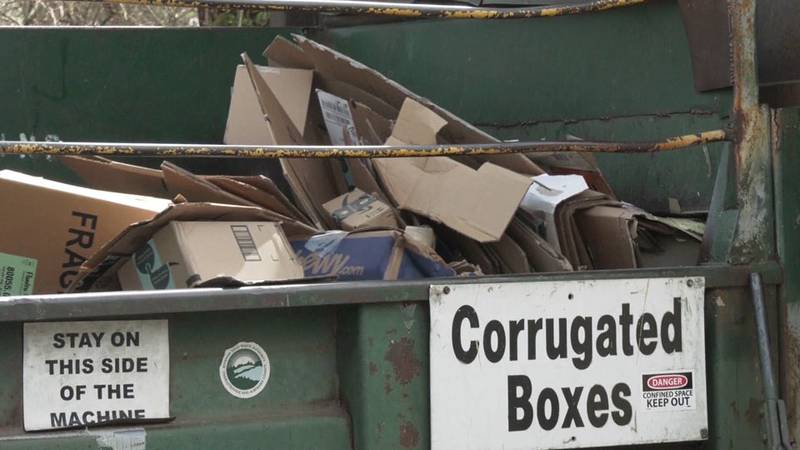 The McIntire Recycling Center in Charlottesville