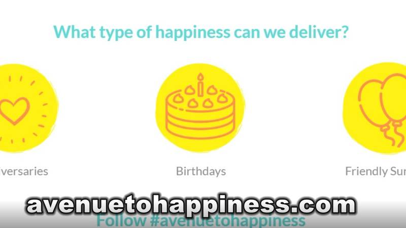 The Avenue to Happiness website.