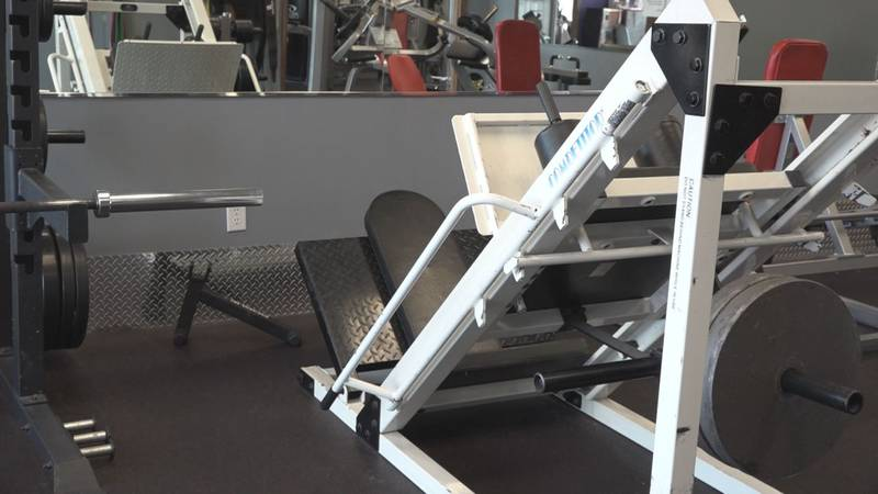 The Fast Fitness manager says they have a core group of people who have returned to working...