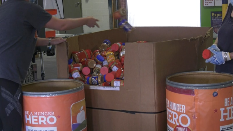 Blue Ridge Area Food Bank volunteers stepping up to give back