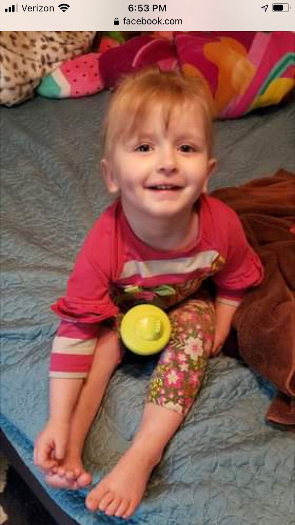 Anyone with information on this child as asked to contact the Augusta Co. Sheriff's Office.
