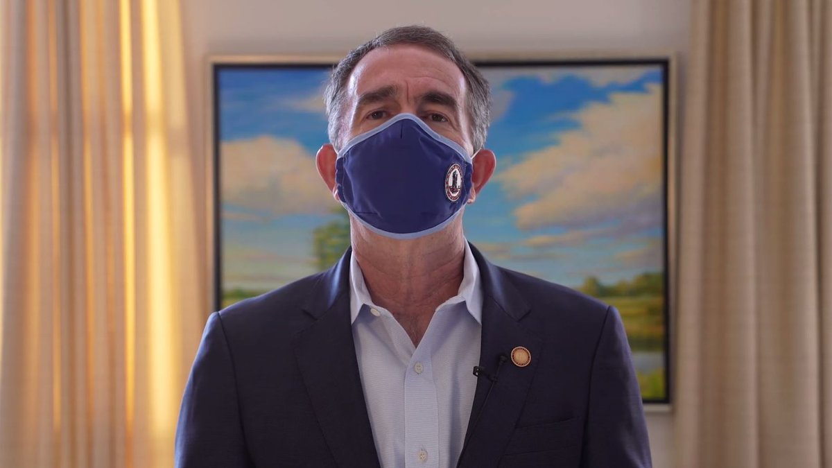 Virginia Governor Ralph Northam announced new COVID-19 restrictions going into place across the...