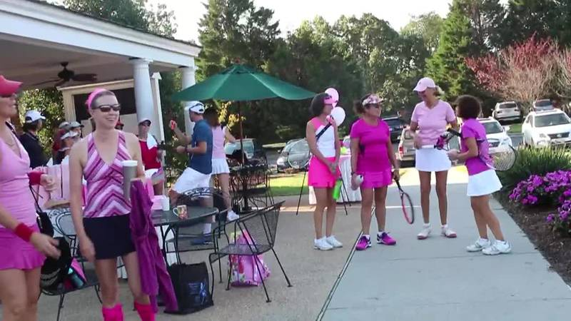 In the Pink Tennis Tournament