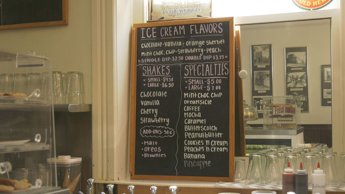 The Soda Fountain at Timberlakes Drug Store reopens on Charlottesville's Downtown Mall