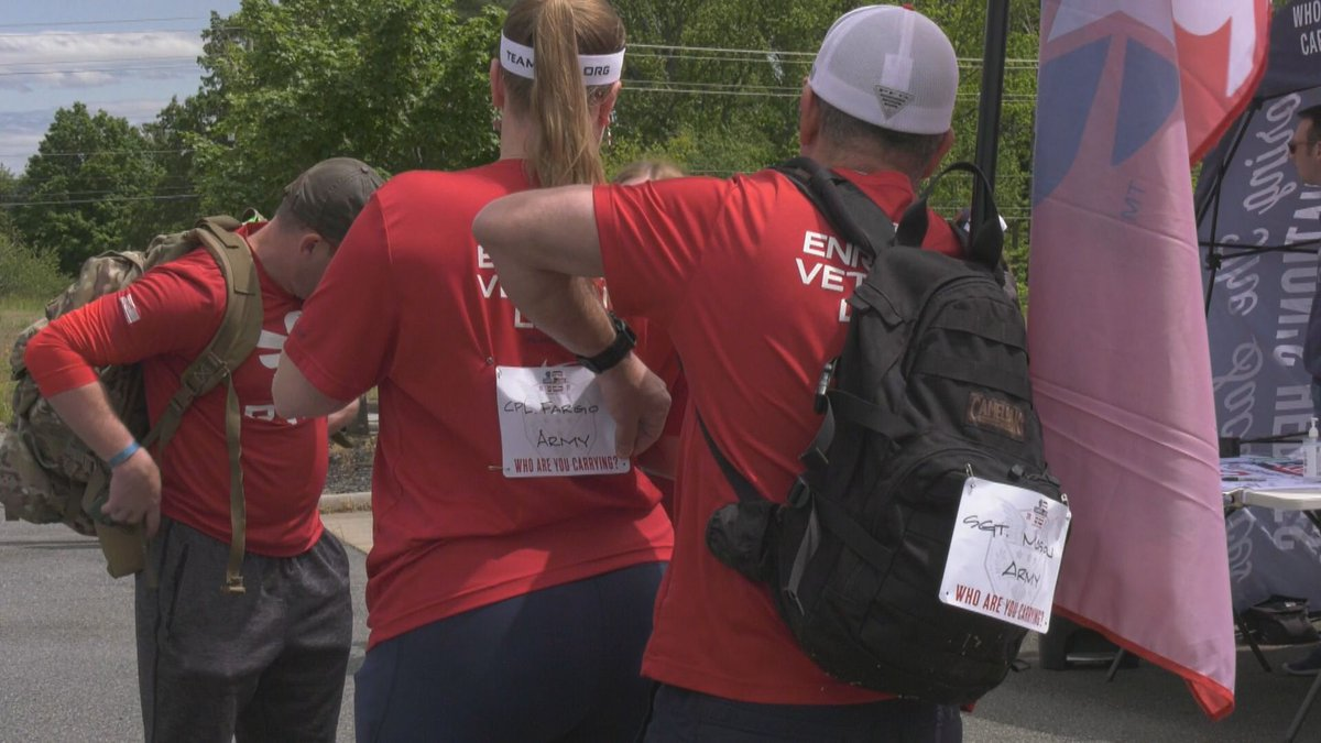 Carry the Load march in Albemarle County