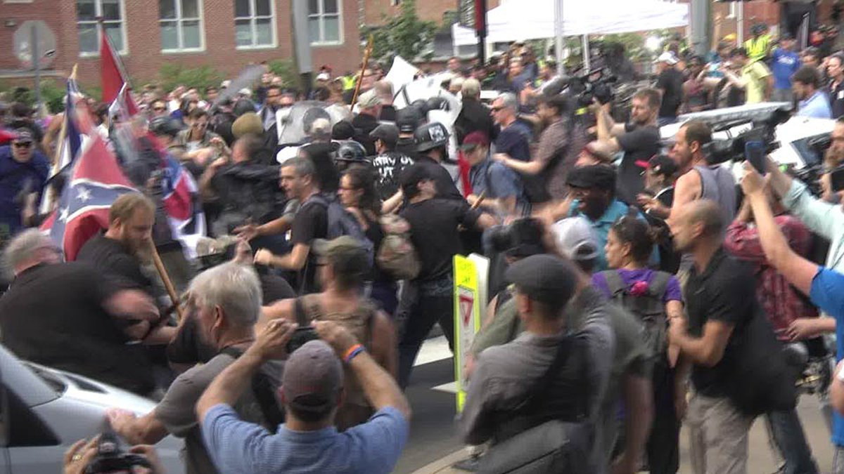 Unite the Right rally in Charlottesville (FILE)
