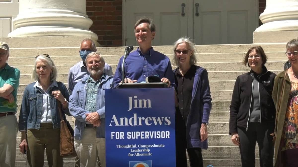 Jim Andrews to run for Albemarle County Board of Supervisors
