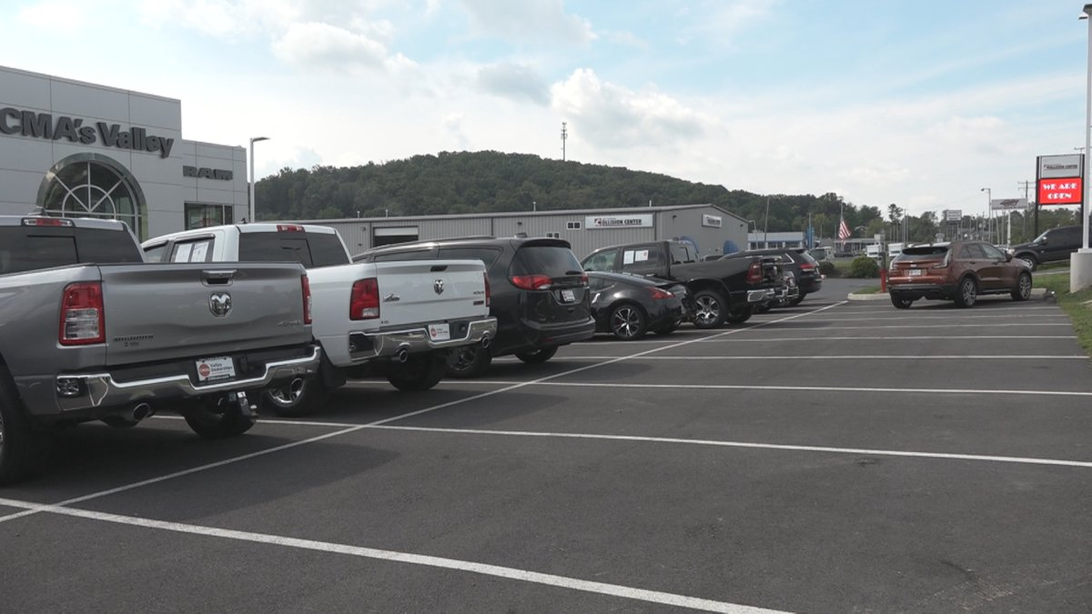 CMA's Valley Jeep is doing things a little differently, which means there are a few empty spots...