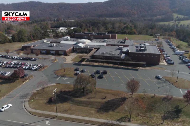 NBC29 Skycam: Cale Elementary School, November 2019