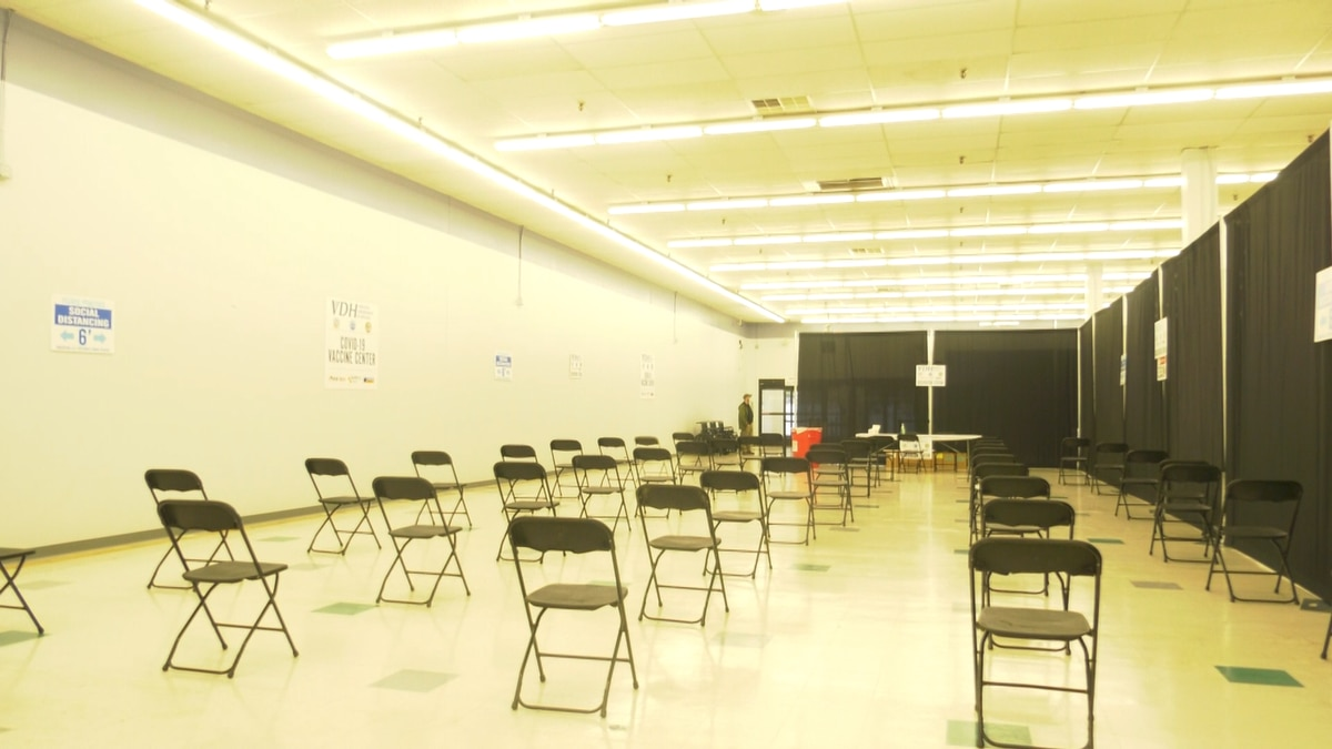 New vaccination center in Charlottesville