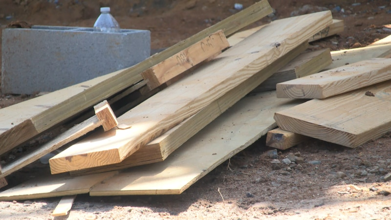 Lumber prices have skyrocketed 180% since the spring 2020, according to the National...
