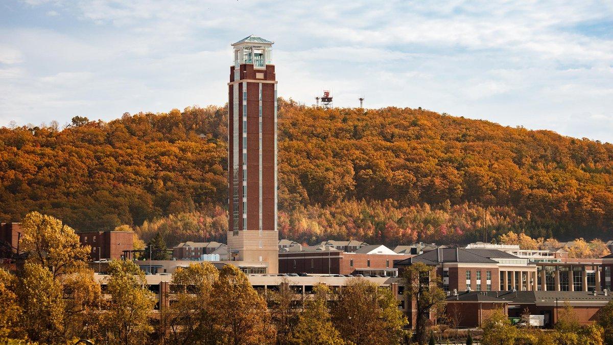 Liberty University's Freedom Tower.