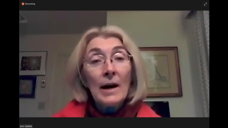 Albemarle Supervisor Ann Mallek held a virtual town hall for citizens of the White Hall...