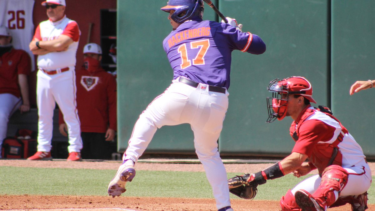 The Tigers, who won the series 2-1, fell to 14-11 overall and 8-7 in ACC play.