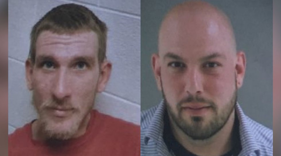 Left to Right: Leonard Taylor Pippin Jr. and Michael Lee Barlow