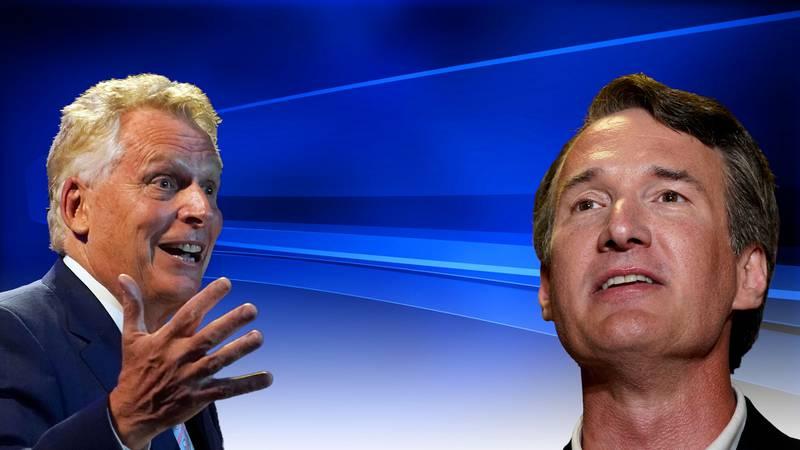 Former Virginia Gov. Terry McAuliffe looks ahead at Nov. election against Glenn Youngkin.
