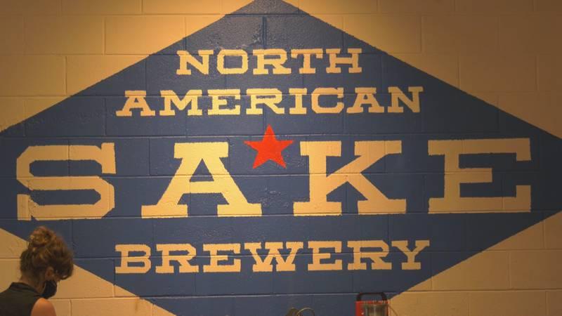 North american sake brewery holds second anniversary celebration