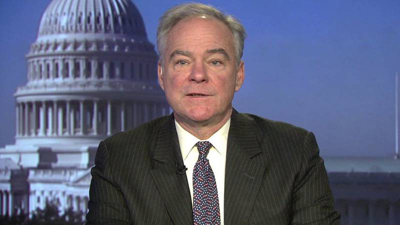 Senator Tim Kaine comments on U.S. reponse to pandemic