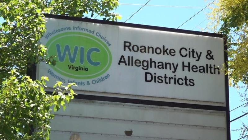 One of the WIC offices, in SE Roanoke.
