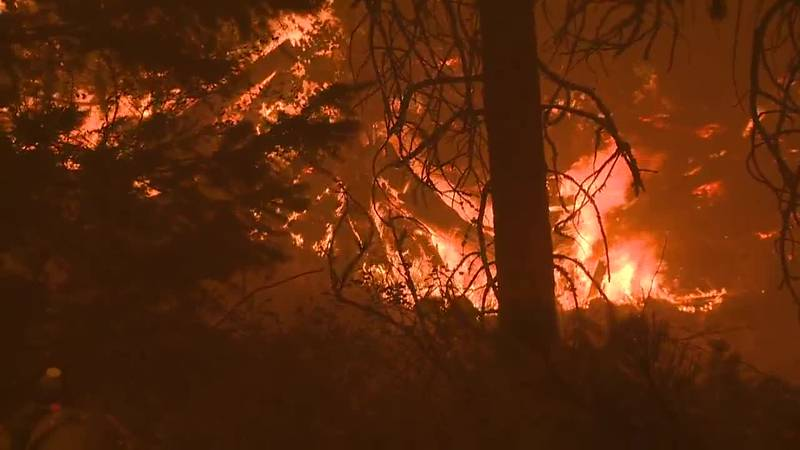 Crews continue to battle California's largest wildfire, the Dixie Fire.