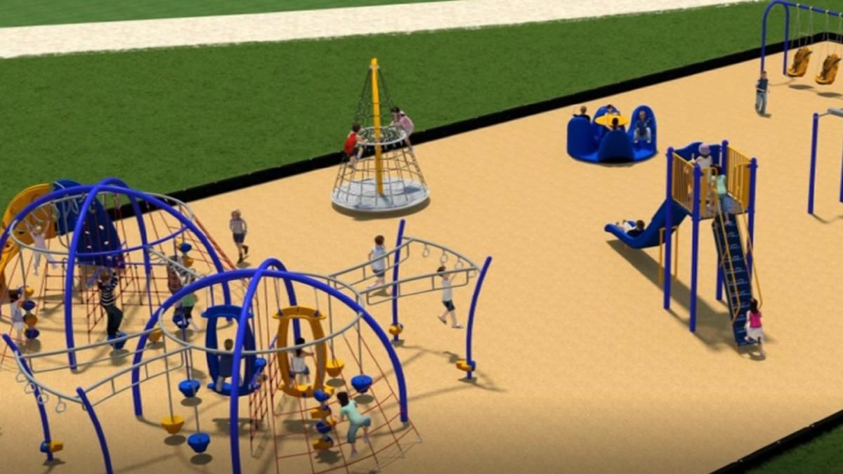 Walker Upper Elementary Playground