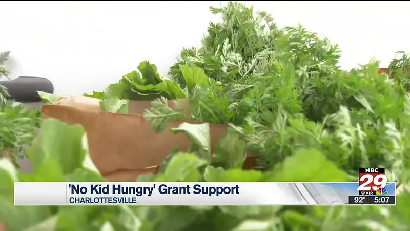 No Hungry Kid grant support