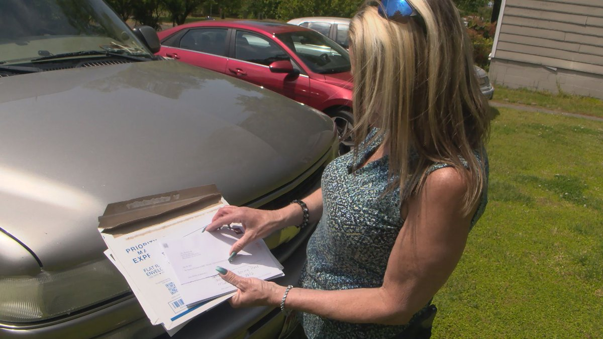 Patricia Hill called 12 On Your Side to warn others about the car wrap scam, after she lost...