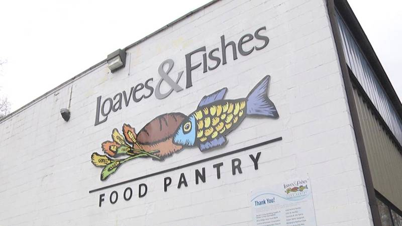 Loaves and Fishes Food Pantry.