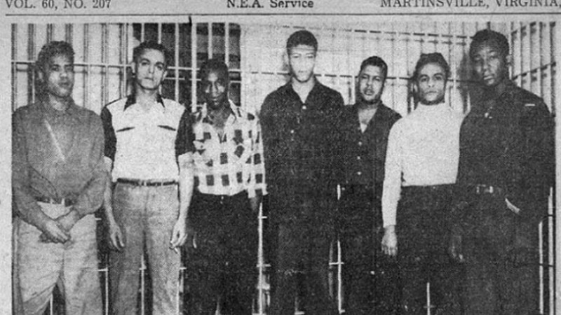 Governor Ralph Northam has granted a posthumous pardon to 7 Black men from Martinsville...