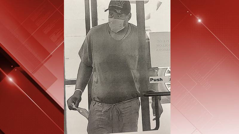 Surveillance photo of Wards Road Bank of America robber in Lynchburg