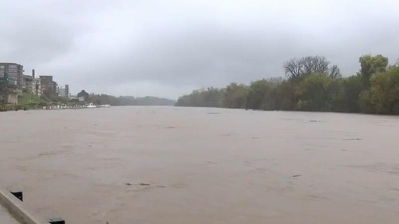 James River flooding