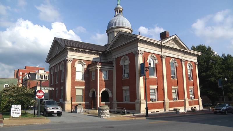 The Augusta County Circuit Court building located in Downtown Staunton.