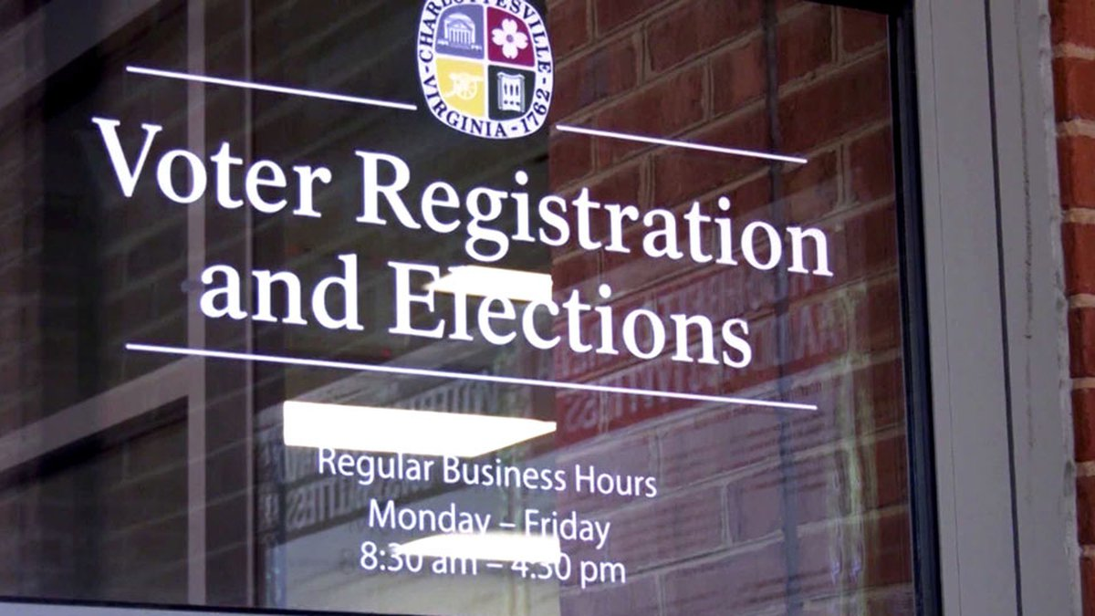 Voter Registration and Elections in Charlottesville (FILE)