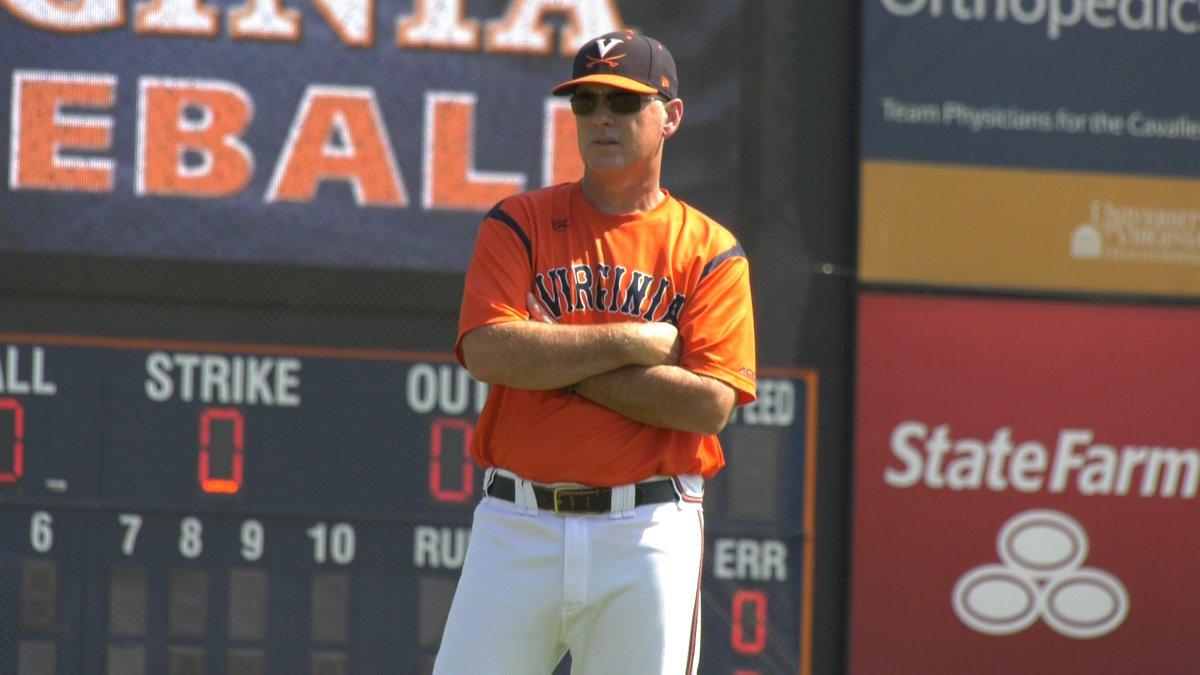 UVA baseball coach Brian O'Connor