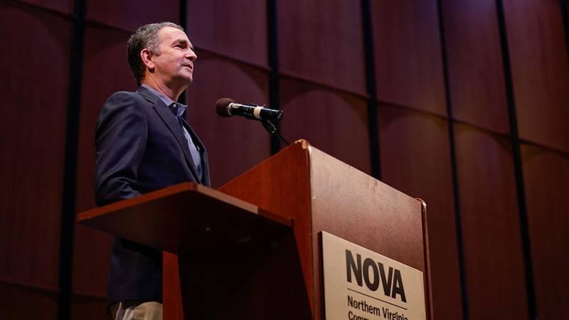 "Governor Northam signed legislation to create the ""Get Skilled, Get a Job, Give Back""..."