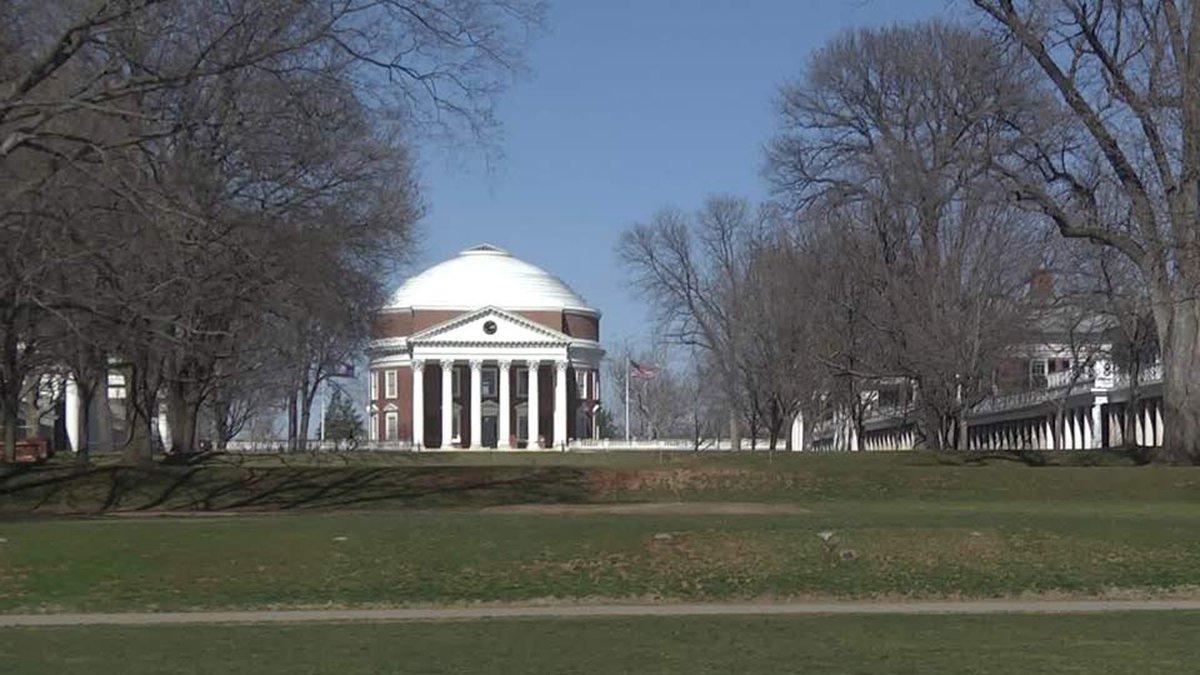 The University of Virginia Rotunda and Lawn