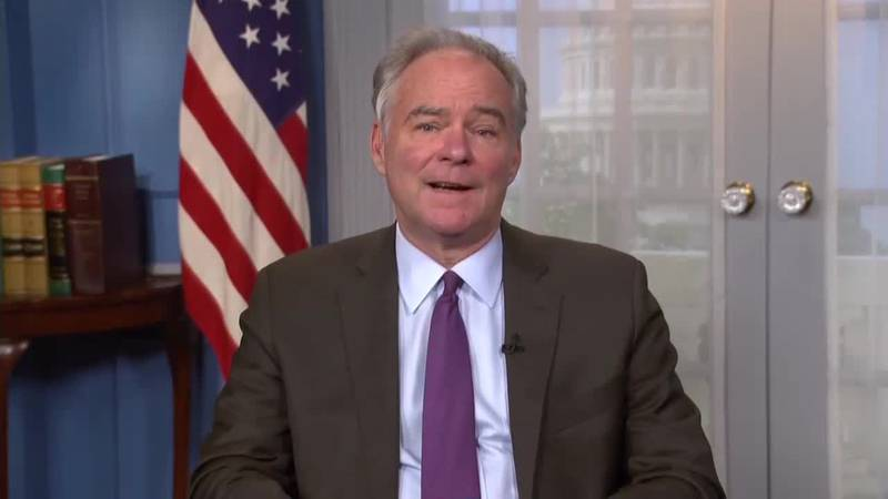 Kaine is highly critical of Trump's debate performance.