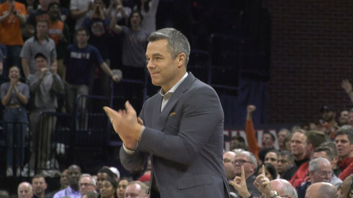 Tony Bennett is entering his 13th season with the Cavaliers.