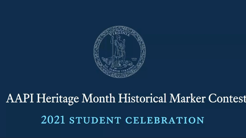 AAPI heritage month historical marker contest