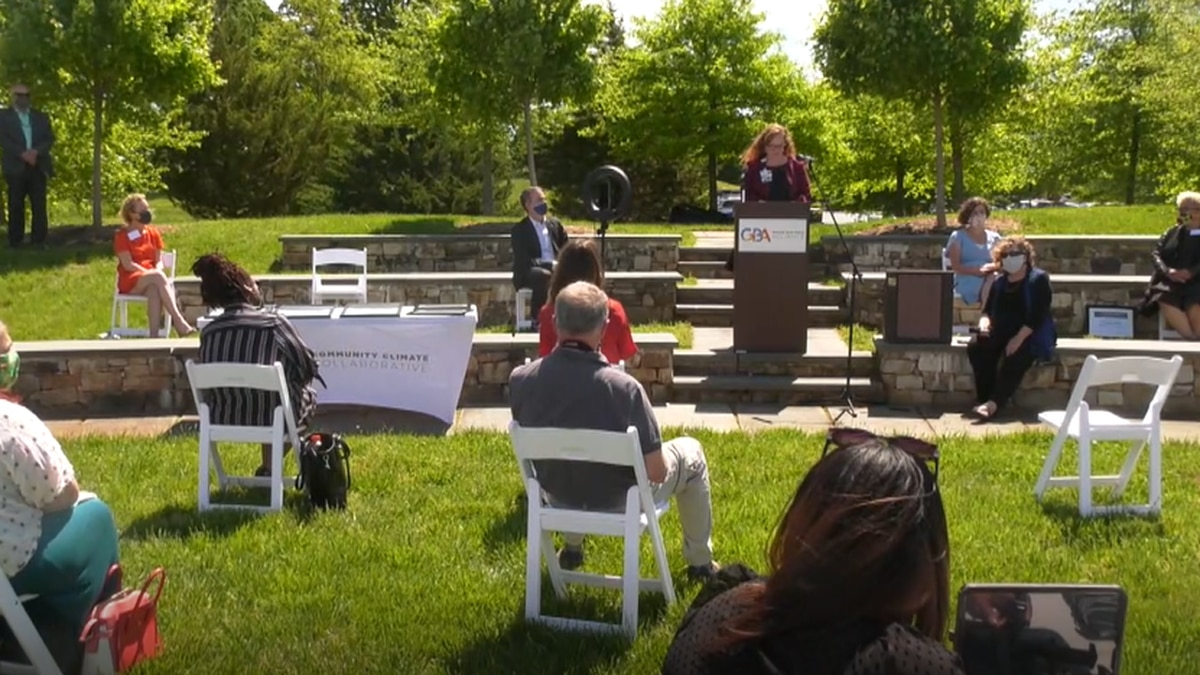 The Community Climate Collaborative holds event to launch new Green Business Alliance.