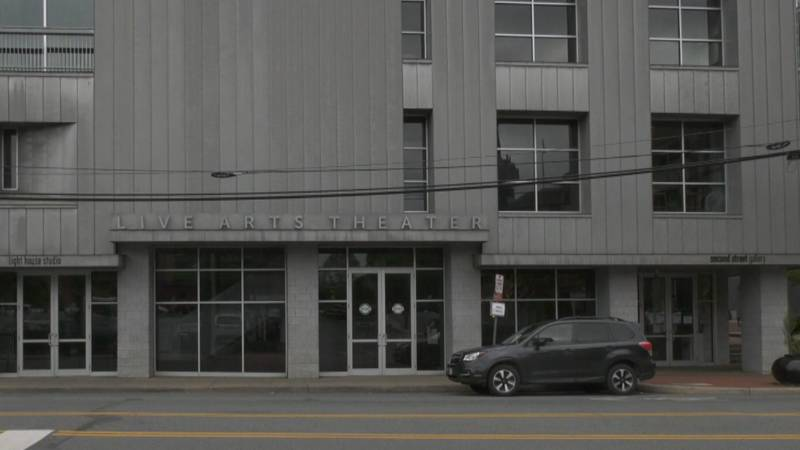 The Live Arts building in downtown Charlottesville.