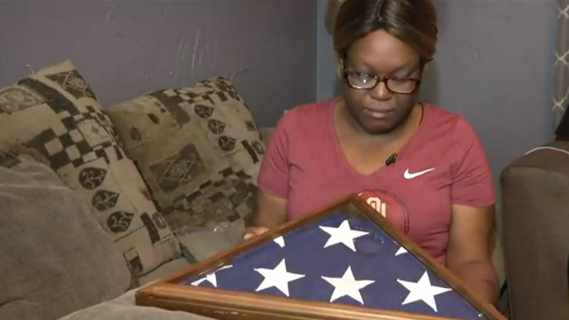 An Iowa woman cleaning an apartment found a memorial flag belonging to a veteran of World War I.