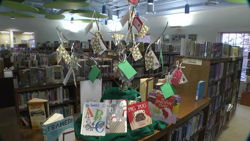 The Giving Tree at the Jefferson-Madison Regional Library.