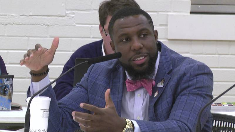 Charlottesville City Councilor Wes Bellamy.