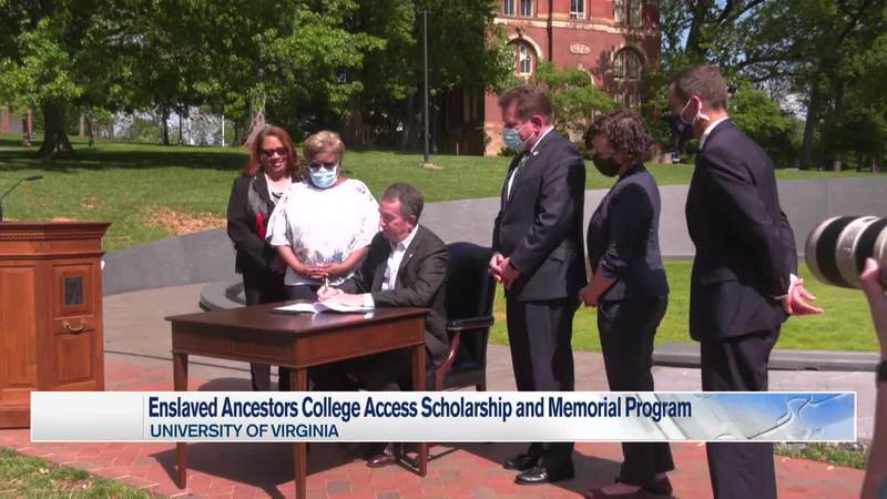 Governor Ralph Northam signs bill that will provide scholarships to descendants of enslaved...
