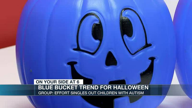 '[They] may not want to be identified': Group urges caution for Halloween with blue bucket...