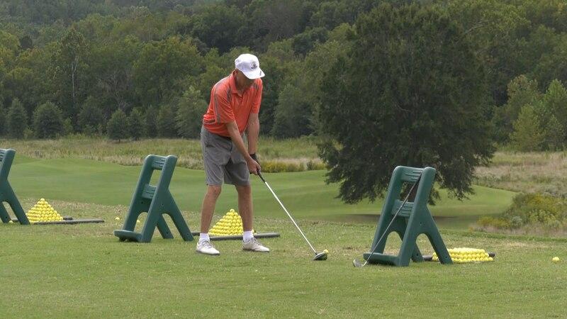 Golfer at Glenmore