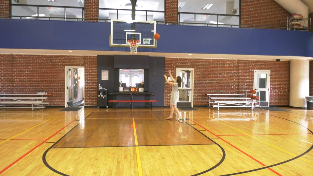 Key Recreation Center's basketball court