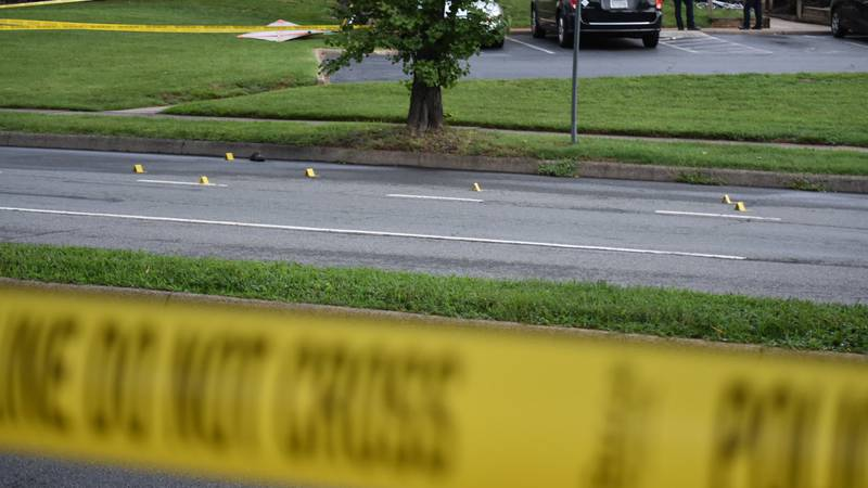 No injuries after about 15 shots were fired in Charlottesville on Thursday