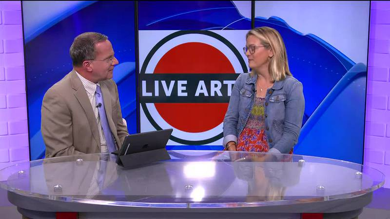 Steve sits down with Miller Susen, the education director for Live Arts.